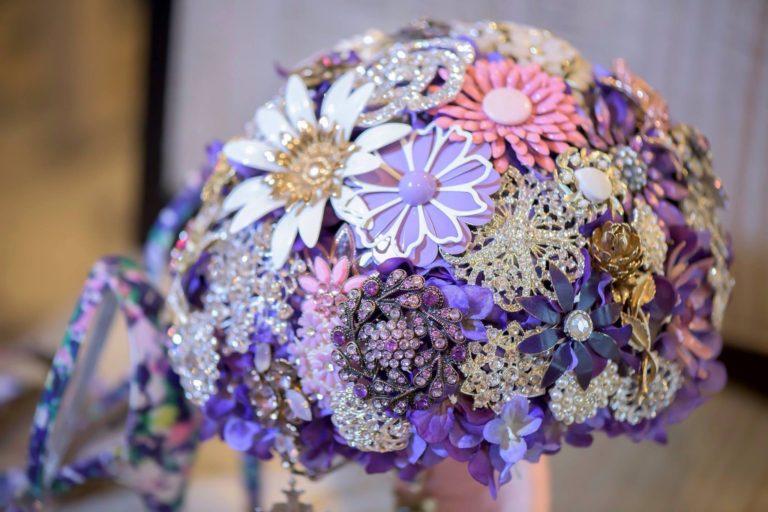 Brooch Bouquets | Brooch, Fresh and Silks