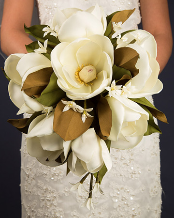 Southern Magnolia Silk Bouquet